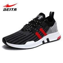 Beita Для мужчин мужские кроссовки 2018 спортивные кроссовки дышащая брендовая открытый комфорт Размеры 39–46 спортивная обувь Zapatos Para Correr