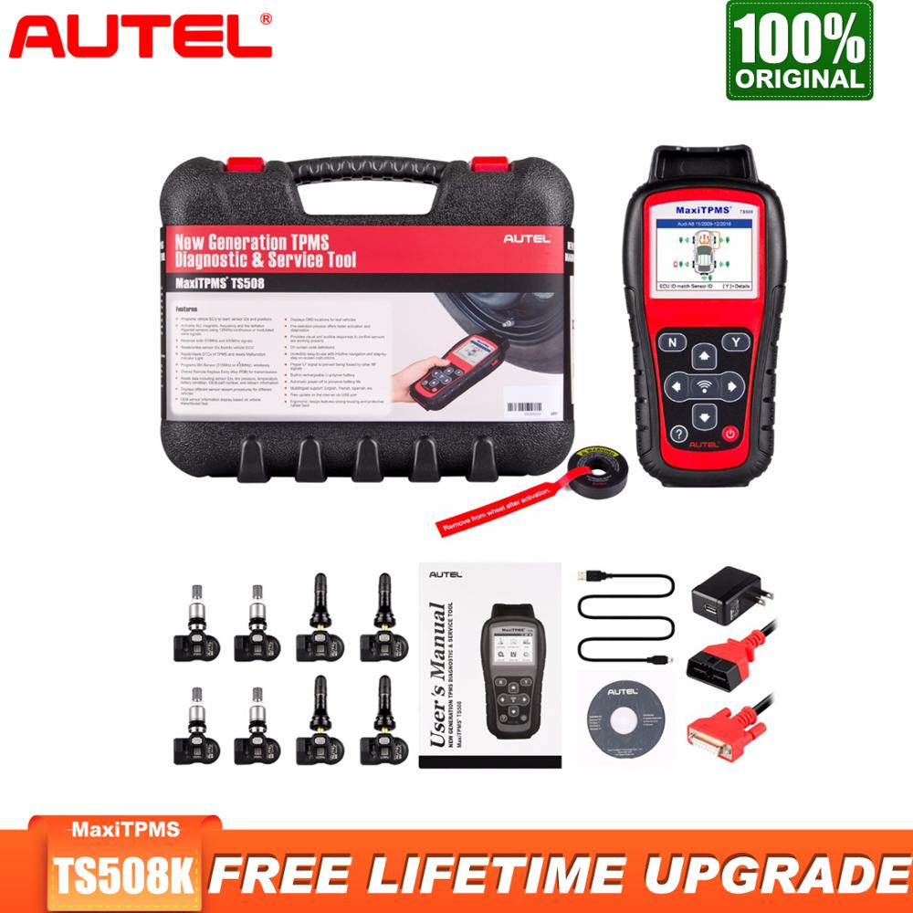 Check Tpms System >> Us 424 15 15 Off Autel Ts508k Tpms Diagnostic Tool Tpms Sensor Check Tpms System Health Condition Program Mx Sensors And Conduct Tpms Relearn In