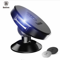 Baseus 360 Degree Universal Car Holder Magnetic Mobile Phone Holder Soporte Movil Car Phone Stand For