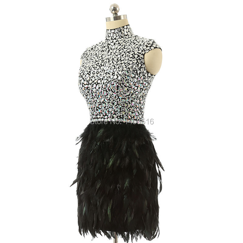 Online Get Cheap Feather Dresses Homecoming -Aliexpress.com ...