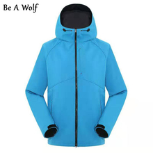 Outdoor Sports Hiking Jacket Softshell Jacket Men Windbreaker Fleece Jackets Windproof Waterproof Camping Male Jacket 202 rax winter outdoor waterproof hiking jacket for men fleece windbreaker windproof softshell jacket men s thermal rain jackets men