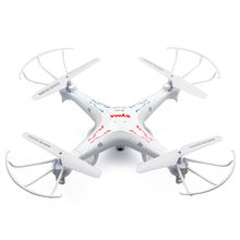 10pcs/lot 4 Battery Syma X5C 2.4G 6-Axis Gyro UAV RTF RC Quadcopter Drone with the camera