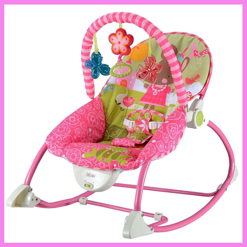 Portable Electric Music Baby Rocking Chair Infant Toddler Cradle Rocker Baby Bouncer Chair Baby Swing Chair Lounge Recliner the baby rocking chair electric cradle chair deck chair