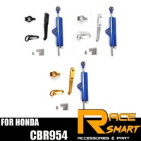 For HONDA CBR 954 CB R954 CBR 954 Steering Damper Stabilizer Kit Motorcycle accessories CNC CBR954
