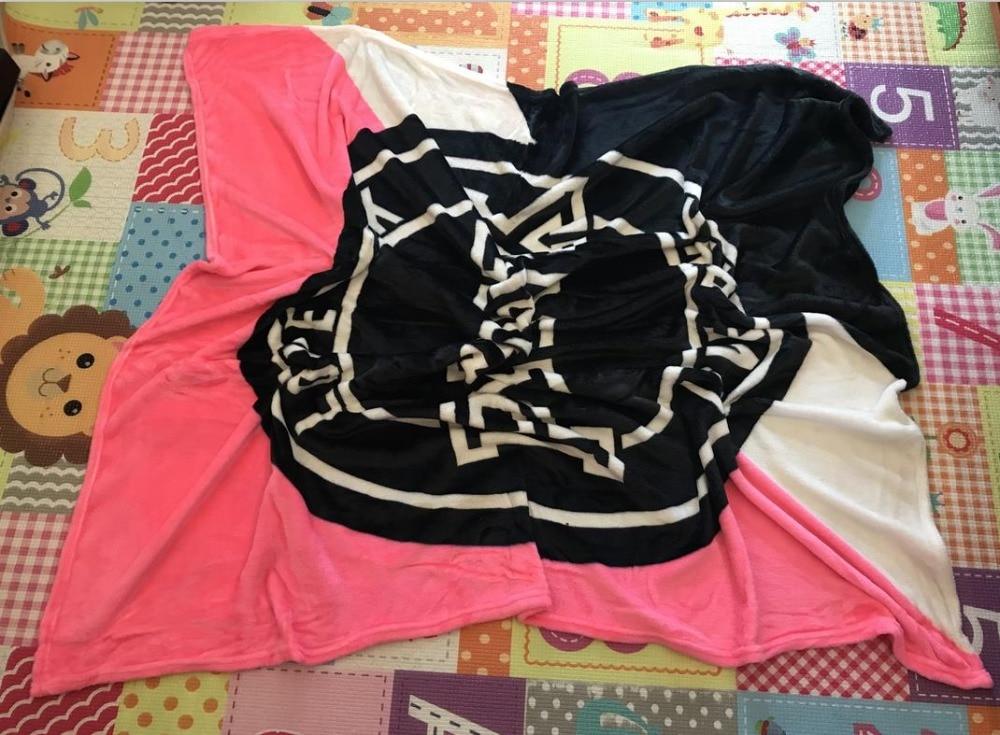 Hot Nieuwe Collectie Rose Groen Roze Deken Zachte Deken In De Sofa Bed Coral Wol Warme Deken Reizen Deken 130*150 Cm