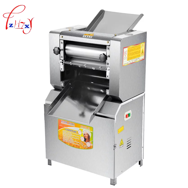 Commercial Automatic Dough Mixer 2200W dumpling skin noodle machine YR-300 steamed bun skin machine noodle press machine 1pc ce certificate automatic gyoza maker steamed dumpling make automatic stainless steel dough making machine chinese dumpling maker