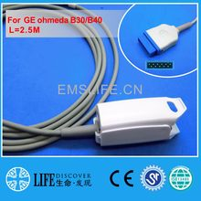 Long cable AWT adult finger clip spo2 sensor for GE Ohmeda B30,B40 patient monitor(China)