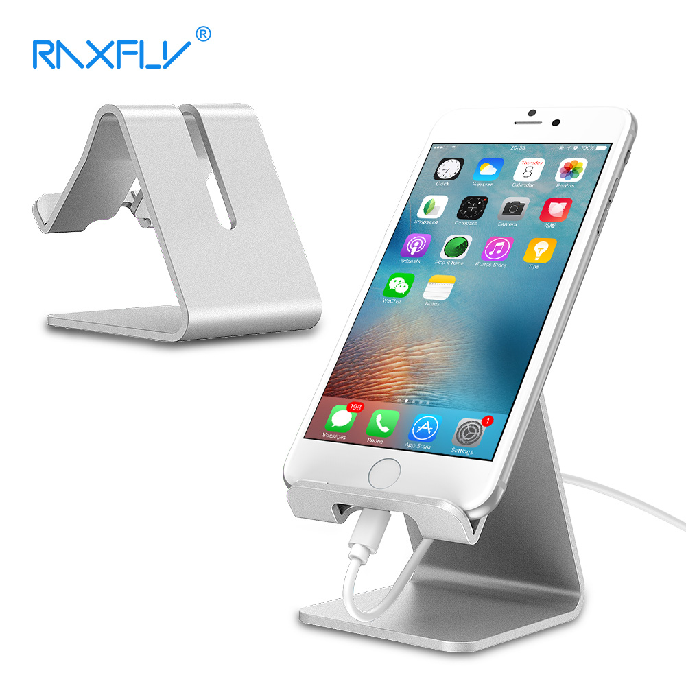 RAXFLY Phone Tablet Holder For iPhone 7 Plus Phone Stand Holder Universal Support Desktop Stand For Xiaomi Redmi Samsung Huawei
