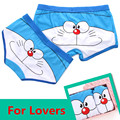 HOT SALE Cuecas Boxers Mens Underwear Lovers Panties Cotton Cartoon Breathable Underpants Men and Women Brand Boxer Shorts