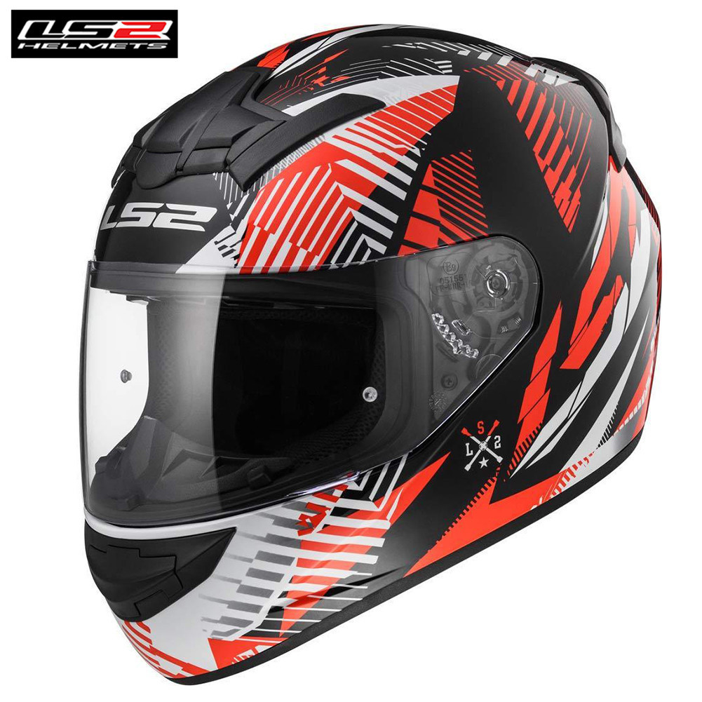LS2 Rookie FF352 Motorcycle Full Face Helmet Scooter Rider Casco Moto Capacetes de Motociclista Motor Helm rookie yearbook four