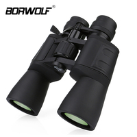 Borwolf 10 180X90 High Magnification HD Professional Zoom powerful Binoculars Light night vision for hunting telescope monocular