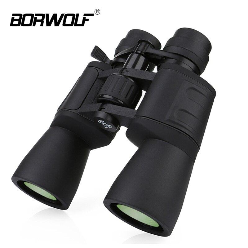 Borwolf 10-180X90 haute grossissement HD Zoom professionnel jumelles puissantes vision nocturne légère pour télescope de chasse monoculaire