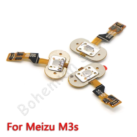Back Home Button Fingerprint Flex Cable For Meizu M3 Note M3s Mobile Phone Repair Parts Islamabad