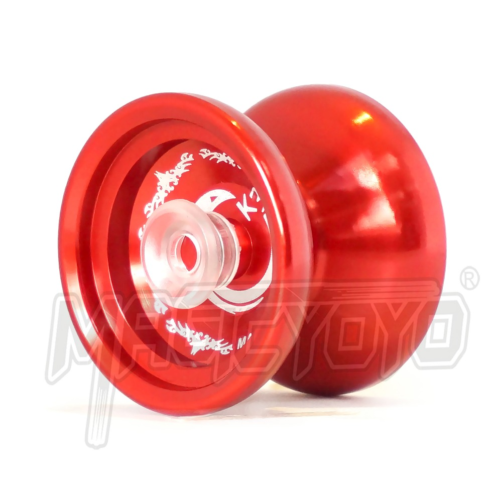 Hot Sale Magic Yoyo K6 Bronze Saints Yoyo Metal Bearing Professional Yoyo Toys Special Props Diabolo Juggling At All Costs Yoyos
