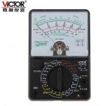 Victor VC3010 подлинный указатель Универсальный мультиметр Высокая точность многоконтурная защита механический ручной Диапазон мультиметр
