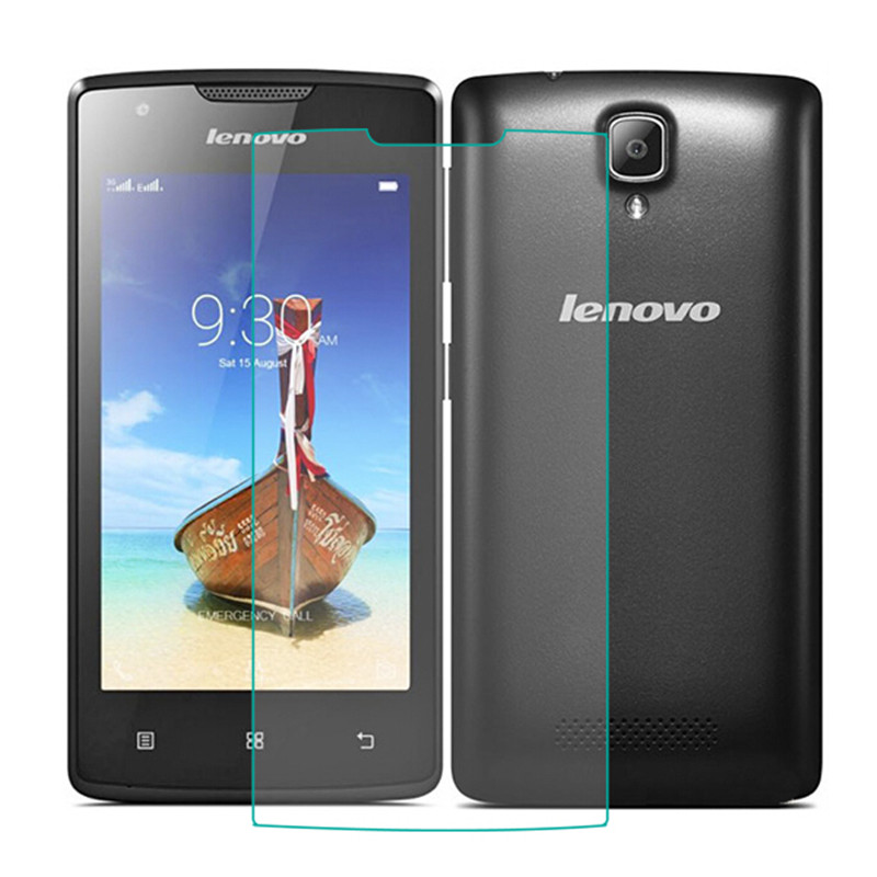 100% Original 9H 0.26mm High Clear Explosion-proof Front LCD Tempered Glass For Lenovo A1000 A 1000 Screen Protector Glass Guard