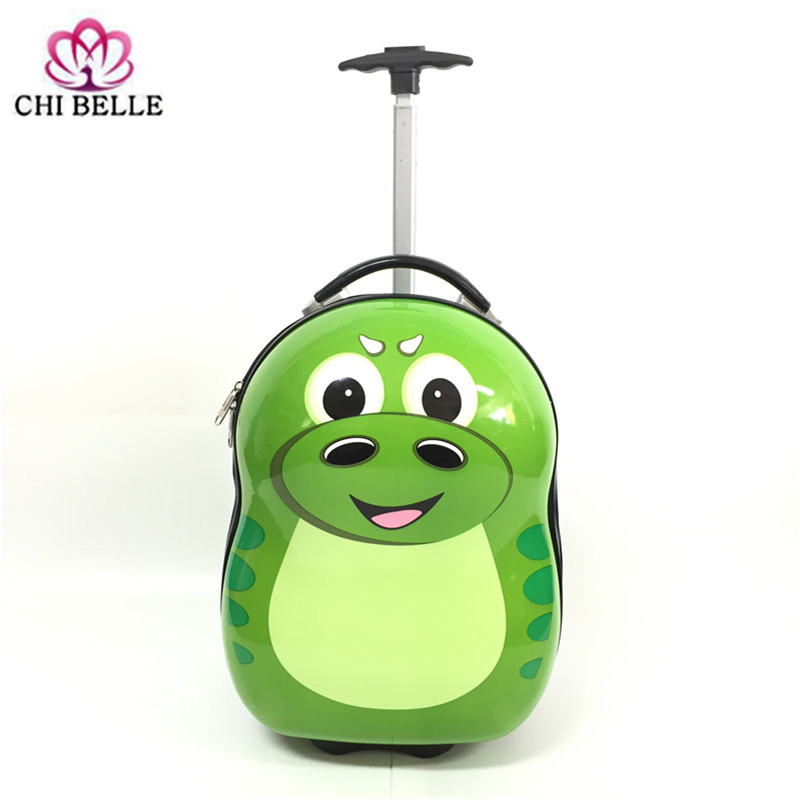 16 inch PC manufacturers selling cute cartoon children pull rod box one-way wheel suitcases students pull rod box