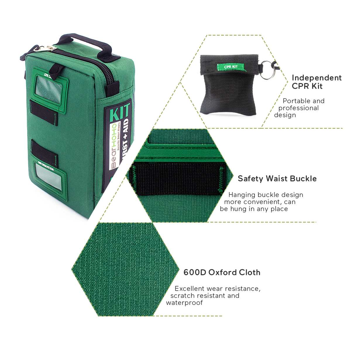 Handy Lightweight Emergency Medical Rescue Bags For Car