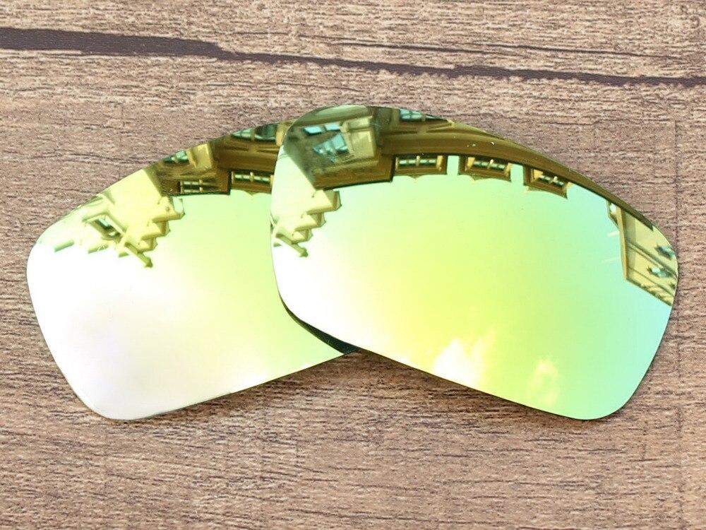 d178dd5158e81e 24 K Miroir D or Polarisées verres de Remplacement Pour Vilebrequin lunettes  de Soleil Cadre 100% UVA et UVB Protection