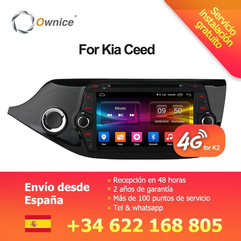 Ownice C500 4g SIM LTE Octa 8 Core Android 6.0 Für Kia CEED 2013-2015 Auto DVD Player GPS navi Radio WIFI 4g BT 2 gb RAM 32g ROM