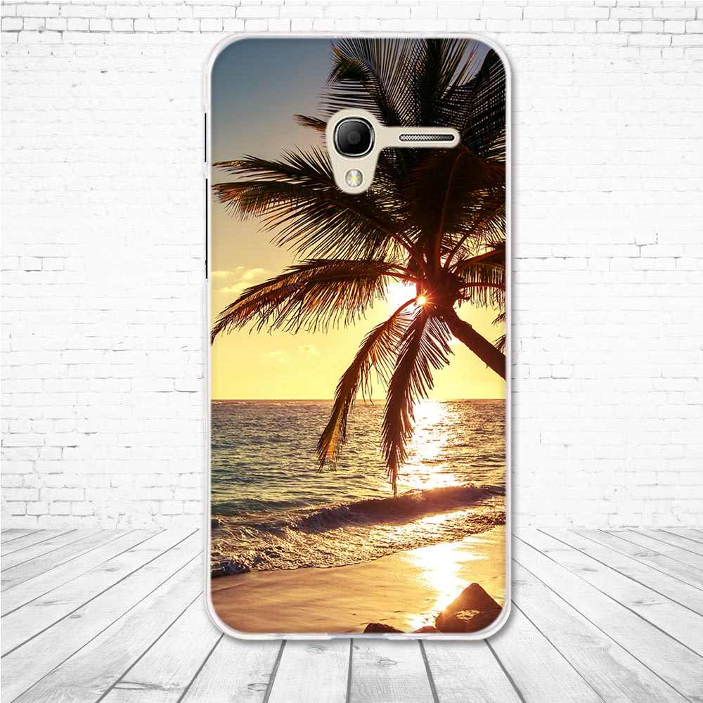 "Case for Alcatel Pop 3 OT5015D 5.0"" Case Back Soft Silicone Cover for alcatel onetouch pop3 5015D Cover Coque Shells Fundas Bags"