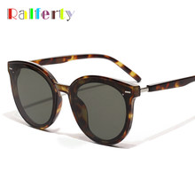 Ralferty Korea Fashion Sunglasses Women 2019 Luxury Ladies Sun Glasses UV400 Coating Glasses Shades For Women lunette W181204(China)