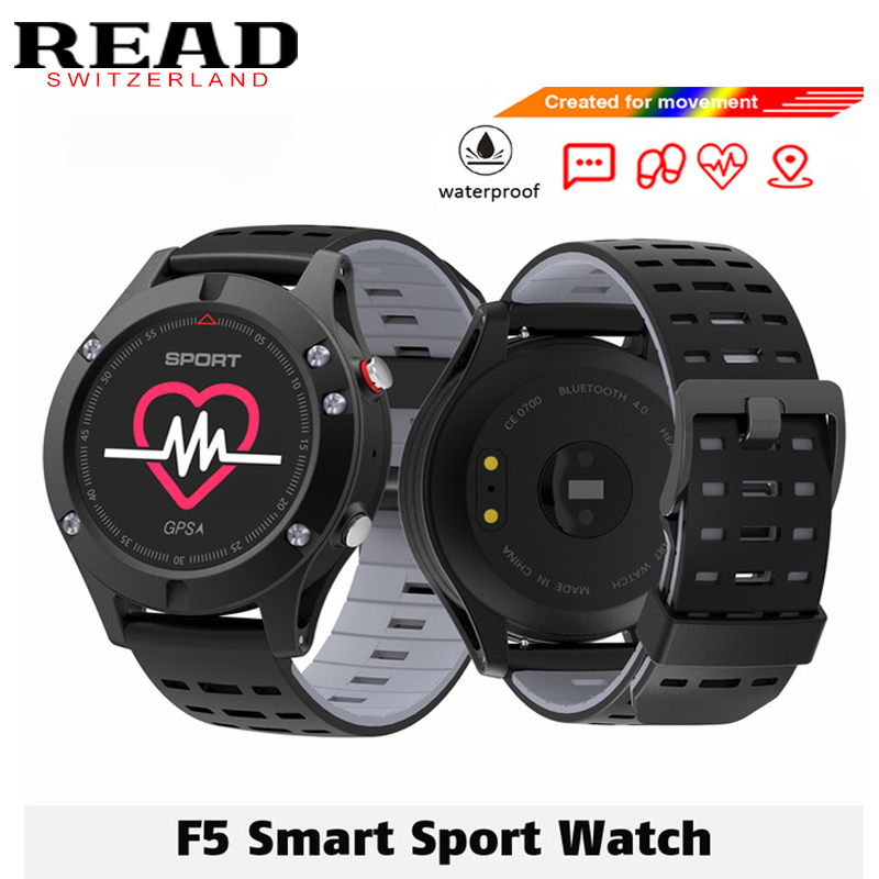 Original F5 Smart Watch With GPS&SIM TF Card Heart Rate Monitor Waterproof Smart Wristband Sport Fitness Tracker For Android IOS