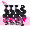 Muse Love Hair Products 8A Unprocessed Brazilian Virgin Hair Body Wave Natural Black Human Bundles Hair Extension Brazilian Hair