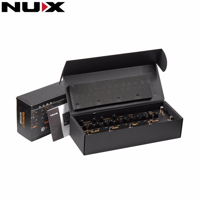 NUX Cerberus Multi Function Effect Pedal Analog Overdrive/Distortion Modulation Effects with Free 3m Cable and Power Adapter