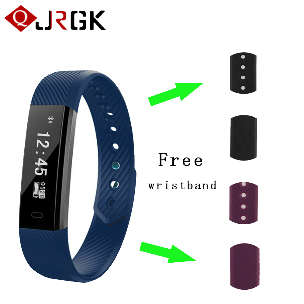 JRGK ID115 Fitness Tracker Smart Bracelet Sleep Tracker Waterproof Tracker USB charge For Android 4.4 iOS 7.1 Bluetooth 4.0