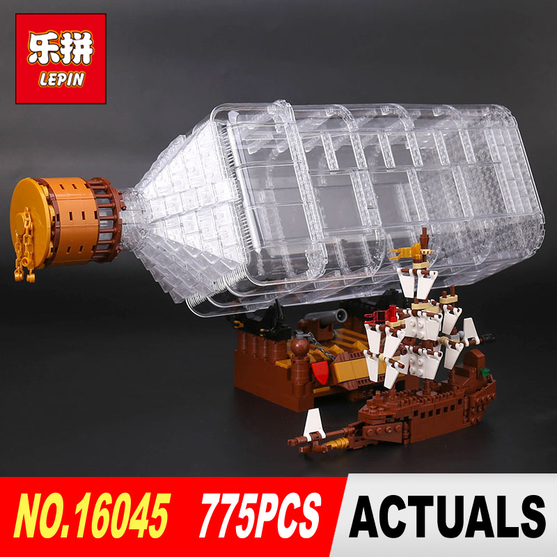 Lepin 16045 Genuine 775pcs Creative Series The Ship in the Bottle Set Building Blocks Bricks Toy Model for Children gifts lepin 16045 genuine 775pcs creative series the ship in the bottle set building blocks bricks toys model gifts