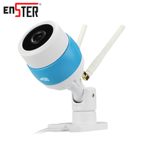 Enster 720P HD Wireless IP Camera Wi Fi Indoor Home Camera Security Varifocal Two Antennas Network
