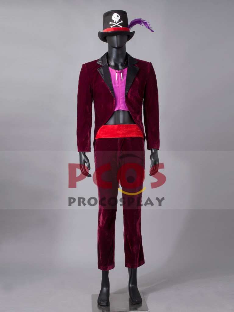 The Princess And The Frog Doctor Facilier Cosplay Costume Amp Hat Mp003301 In Movie Amp TV Costumes