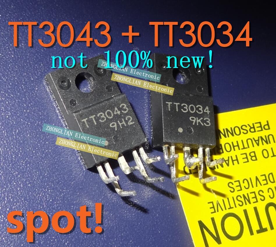 4pcs /lot 2 Pcs TT3034 And 2 Pcs TT3043 Good Quality (not 100%new)