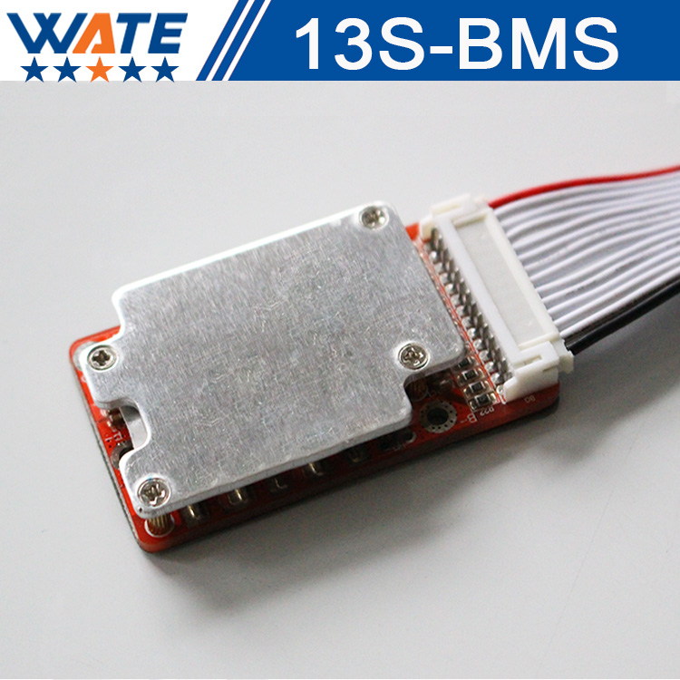 48V15A BMS13S BMS13S PCM / PCB / BMS with balancing function for 48V10AH20AH30AH40AH50AH lithium ion battery 3.7V battery 25s bms 200a li ion bms pcm battery protection board for lithium li ion battery pack battery protection circuit module pcm