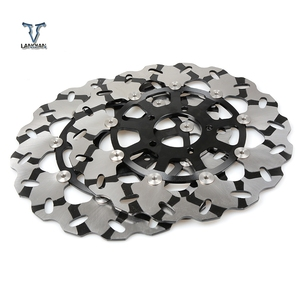 Image 1 - High Quality 2PCS CNC Motorcycle Front Floating Brake Disc Rotor For SUZUKI GSXR1300  gsxr 1300 1999 2007