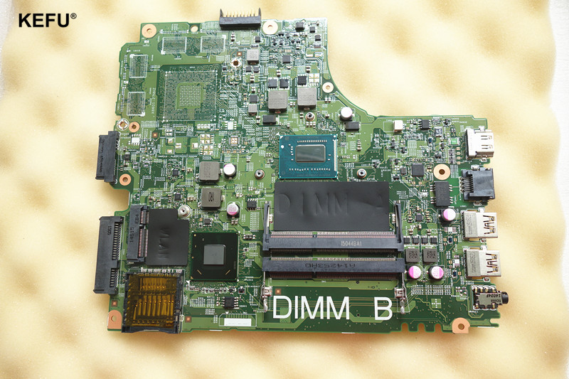CN-07TT7V Laptop Motherboard fit for DELL INSPIRON 3421 Notebook PC CPU i3-3227U SR0XF i3 3227U цена
