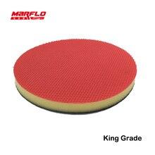 160mm Car paint Care Buff Pad Polishing Pad Magic Clay pad Fine Medium Heavy King Marflo mady by Brilliatech