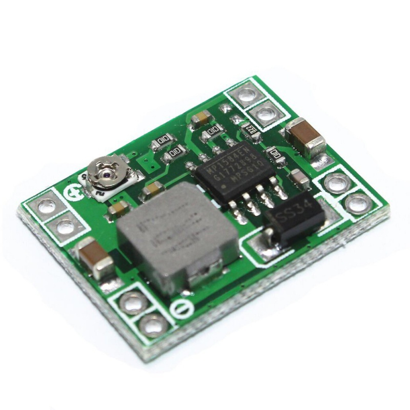 Adjustable Ultra-Small Size Decompression Module DC-DC Step Down Power Supply Module 3A Converter Adjustable 0.8-20V