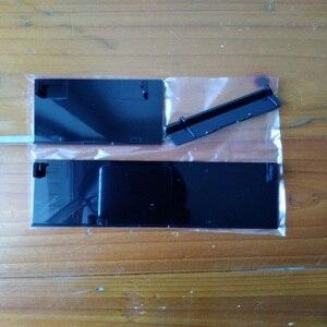 Image 4 - FZQWEG 50 ensembles nouveau remplacement blanc noir Memeory carte fente de porte couvercle 3 pièces couvertures de porte pour Console Nintendo nprévaloir Wii