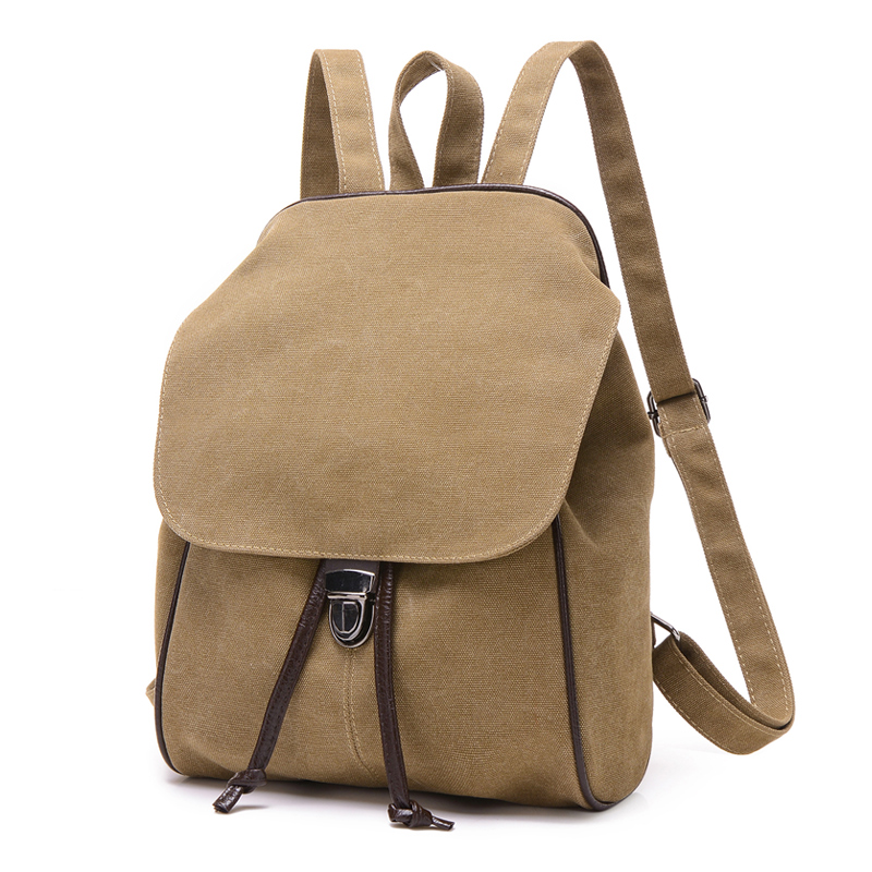 2016 New Casual Canvas Men Backpack Retro Vintage Male Students School Bags Man Shoulder