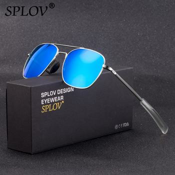 SPLOV Nouveau Mode De Conduite Hommes lunettes De Soleil Femmes Lentilles Polarisées Cadre En Métal Rétro Nuances Classique Lunettes Gafas De Sol Hombres