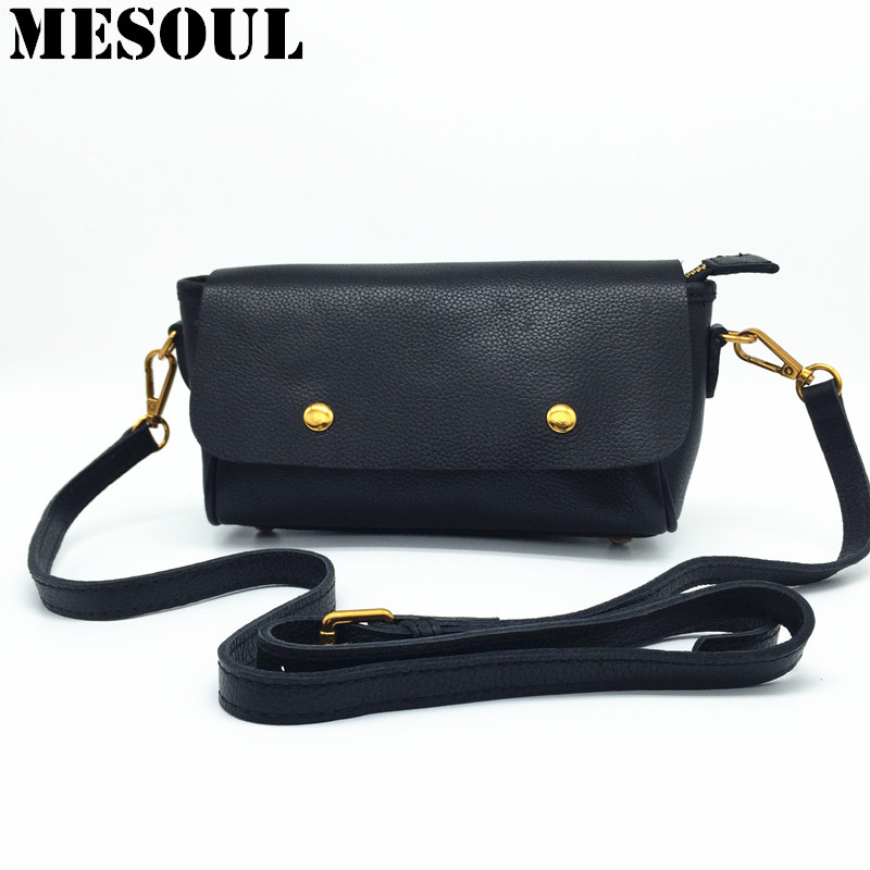 Small Flap Women Messenger Bags High Quality Cross Body Bag Genuine Leather Mini Female Shoulder Bag Handbags Bolsas Feminina yesetn bag hot selling high quality unisex women men small vintage messenger bag brown female male cross body shoulder bags