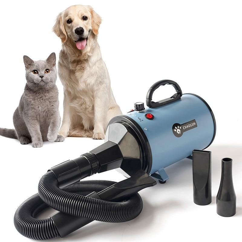 R bEST SEEL Dryer Professional Pet Hair Dryer Dog Blow Ultra Quiet High Power Drying Machine 220V EU plug CF003