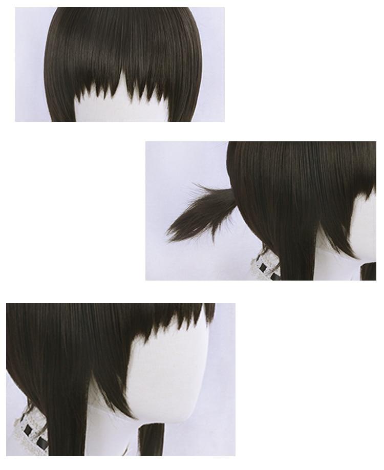 Hanebado Hanesaki Ayano Anime Costume Cosplay Wig Cap