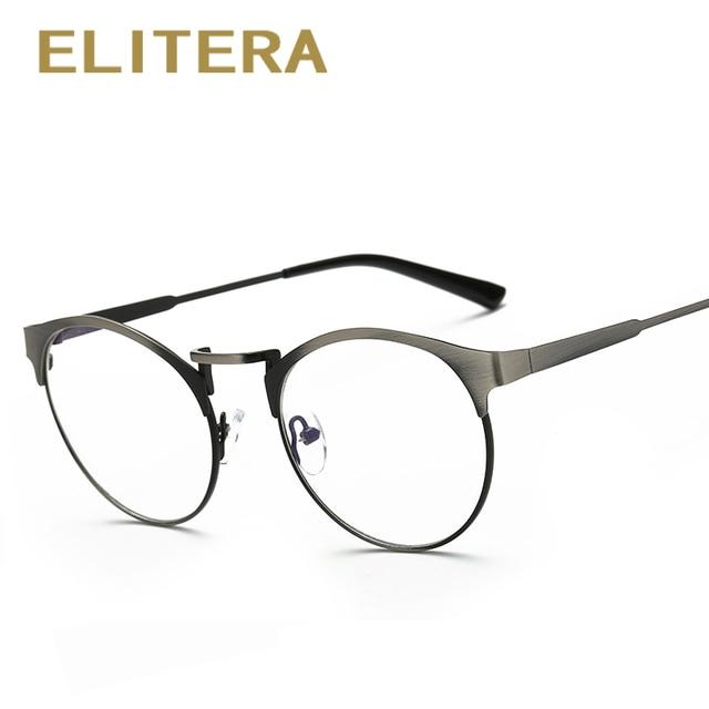 d54e2890d ELITERA 2018 Marca de Moda Design Mulheres Optical Óculos Retro Quadro  Óculos De Luxo Quadro Mulheres