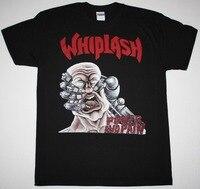 Impreso Camisas en línea corto latigazo cervical y dolor Thrash Speed metal Slayer kreator nueva camiseta negra hombres regalo o-cuello Camisas