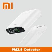 Original Xiaomi Smartmi PM2.5 950mAh DC5V/1A/3W Air Detector Portable Sensitive Air Quality Tester Three color Digital Indicator