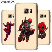 DREAMFOX M209 Deadpool Soft TPU Silicone Cover Case For Samsung Galaxy S5 S6 S7 S8 S9 S10 S10E Lite Edge Plus