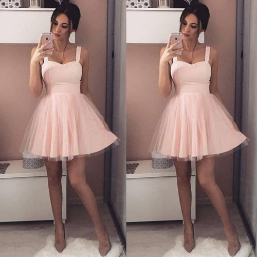 fa7b39a436e 2018 Fashion Women Ladies Lace Short Dress Strapless Night Party Wear  Wedding Tutu Summer Dress